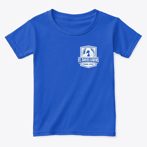 St Dane's Swag Royal  T-Shirt Front