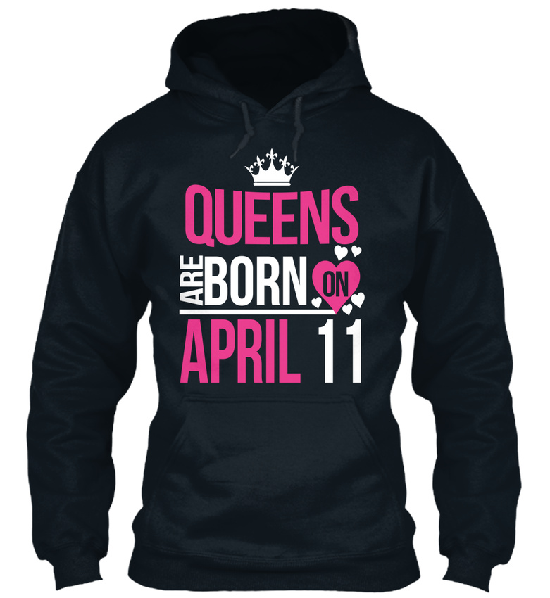 Unique-Queens-Are-Born-On-April-11-Birthday-Standard-Standard-College-Hoodie