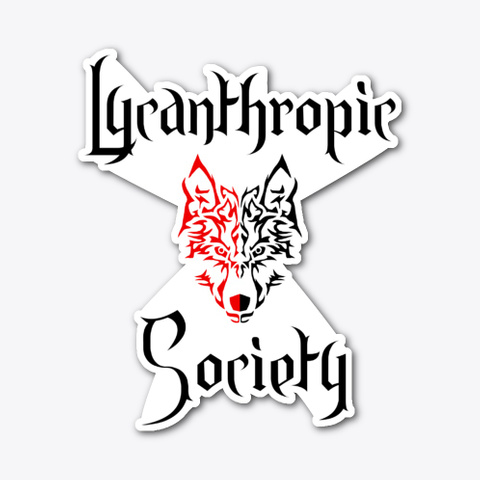 Lycanthropic Society   Werewolf Humor Standard T-Shirt Front