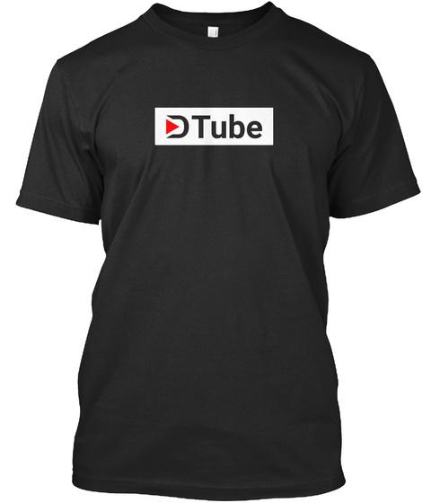The D Tube Shirt Black T-Shirt Front