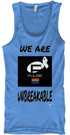 We Are Pulse Unbreakable Carolina Blue T-Shirt Front
