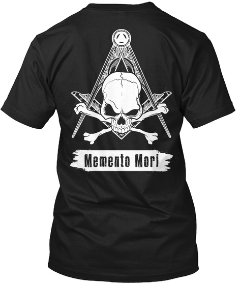 Masonic Memento Mori Square and Compass