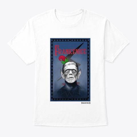 Frankenice White T-Shirt Front