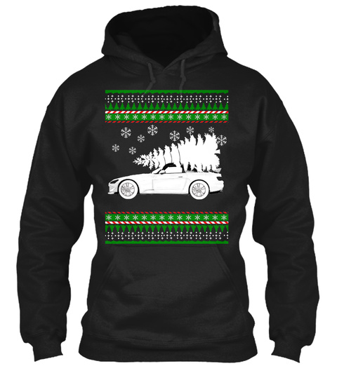 Ugly  S2k Chirstmas Apparels  Black Sweatshirt Front
