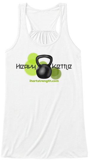 Heavy Kettle   Green White Women's Tank Top Front