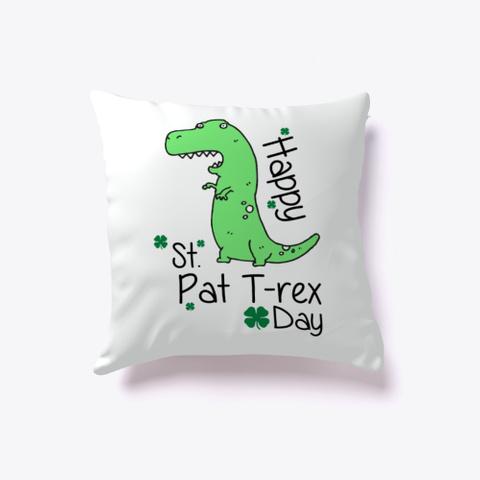 Funny Dinosaur St Patricks Day T Shirt Standard T-Shirt Front
