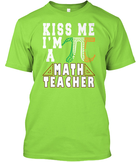 St. Patrick's Day Is Coming Lime T-Shirt Front