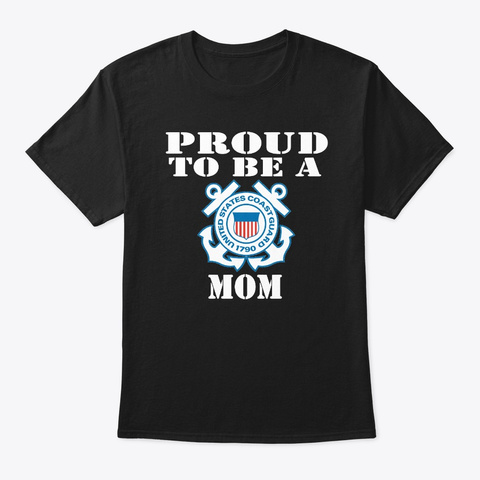 Proud To Be A Cg Mom 2nd Edition. Black T-Shirt Front