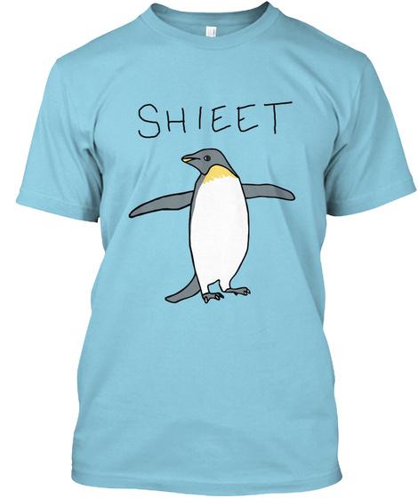 Shieet Light Blue T-Shirt Front