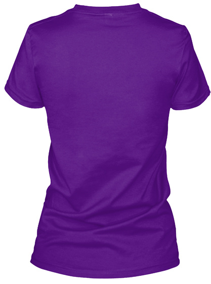 Epilepsy Awareness   Someone I Love Team Purple  T-Shirt Back