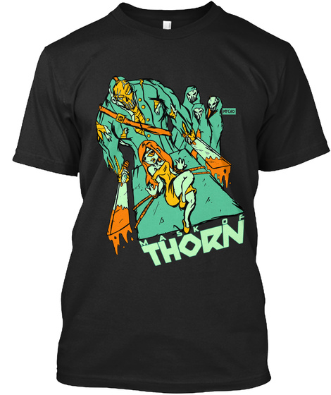 Mask Of Thorn Limited Edition Tee Black T-Shirt Front