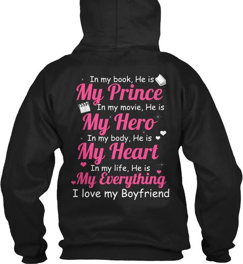I Love My Boyfriend! - in my book, he is my prince in my movie, he ...