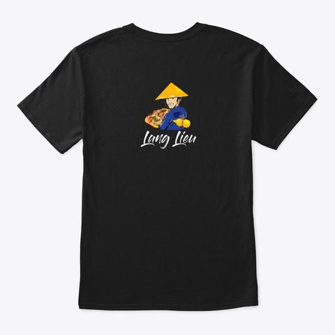 Lang Lieu Black T-Shirt Back
