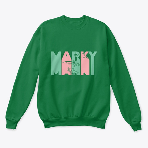 Pick Your Team   Marky Kelly Green  T-Shirt Front