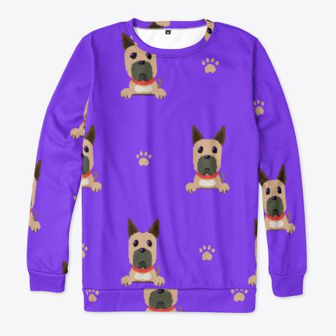 Purple Cute Great Dane Sweatshirt Standard T-Shirt Front