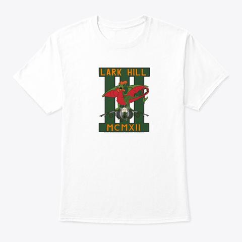 Deci Wall Art 3 Sqn Lark Hill '92 White T-Shirt Front