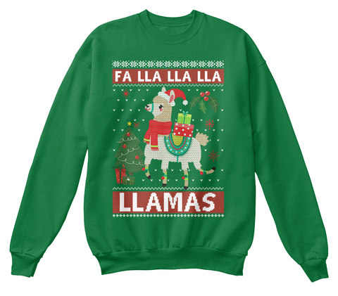 Llama Christmas Shirt.Fa Lla Lla Llama Christmas Sweatshirt