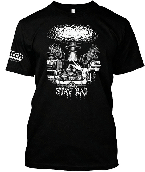 Hey Smoothskin Black T-Shirt Front