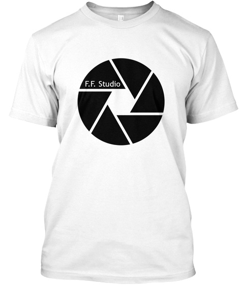 F.F. Studio, Llc Merchandise White T-Shirt Front
