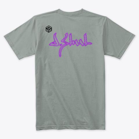 J.Shul Merch Warm Grey T-Shirt Back
