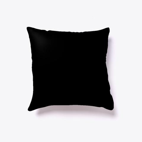 Workaholic Pillow Black T-Shirt Back
