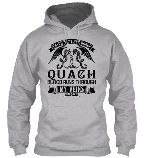 Quach   My Veins Name Shirts Sport Grey T-Shirt Front