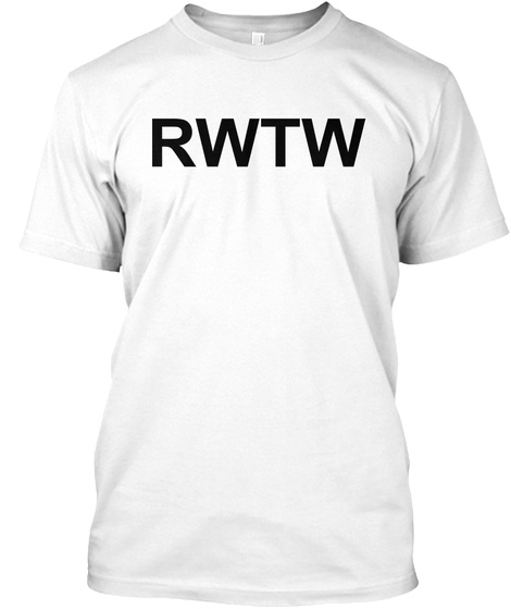 Rwtw Roll With The Winners White Shirt L White T-Shirt Front