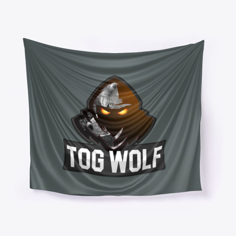 Tog Wolf Wall Tarp Dark Grey T-Shirt Front