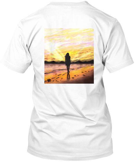 Tarajales Rojos   Emilio Fernandez Lanza White T-Shirt Back