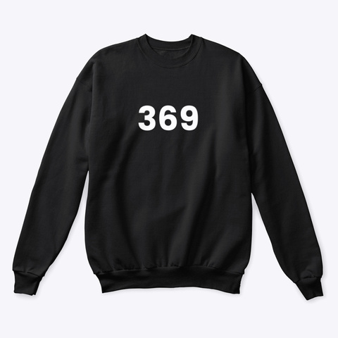Sweatshirt: 369 Black T-Shirt Front