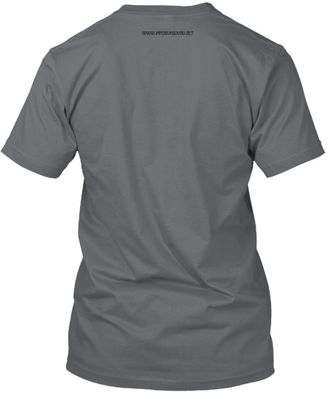 Imperium Charcoal T-Shirt Back