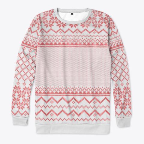 Festive Sweater Standard T-Shirt Front
