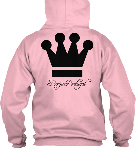 Borgia Porugal Baby Pink Sweatshirt Back