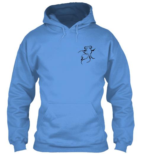 Lachri Fine Art Merch Carolina Blue T-Shirt Front
