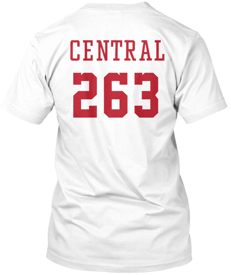 263 Central High School of Alumni Unisex Tshirt