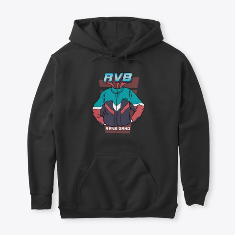 Rvb Tracksuit Style Black T-Shirt Front