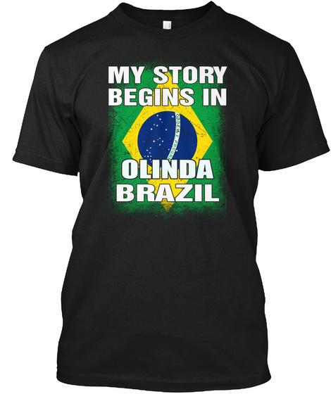 Brazil   Olinda Shirt Black T-Shirt Front