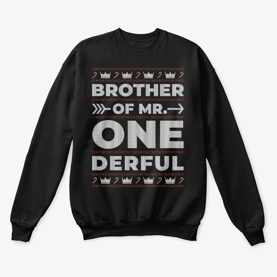 Brother of Mr Onederful Ugly Sweater Unisex Tshirt