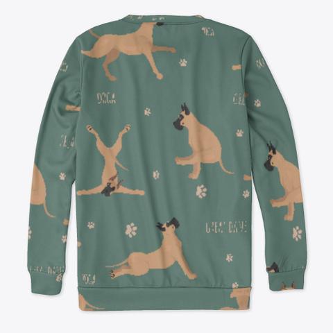 Yoga Great Dane Sweatshirt Standard T-Shirt Back
