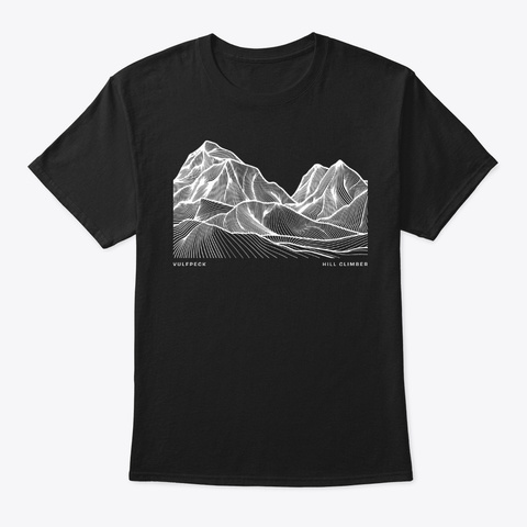 Vulfpeck /// Hill Climber Collection Black T-Shirt Front
