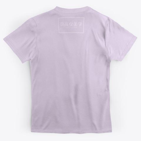 【zen】 Light Purple T-Shirt Back