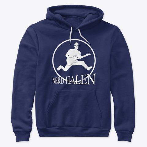 Nerd Halen Gear 11 Navy T-Shirt Front