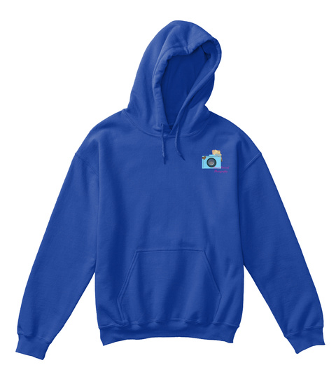 Stacey Percival Photography Kids Hoodie  Royal T-Shirt Front