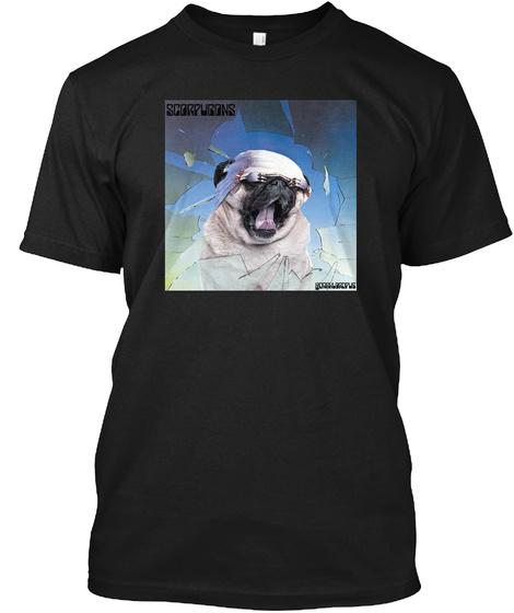Scorpugons Black T-Shirt Front