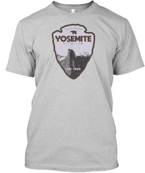 Yosemite National Park Unisex Tshirt