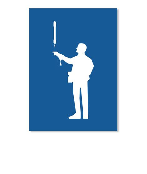 Falconer 3 Man Sticker [Usa] #Sfsf Dk Royal Sticker Front