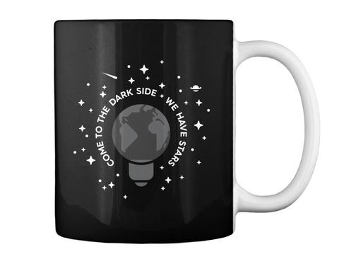 Dark Side Mug [Usa] #Sfsf Black Mug Back