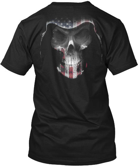 O/I. Black T-Shirt Back