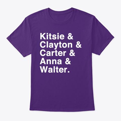 "Oddity Files ""Team"" Purple T-Shirt Front"