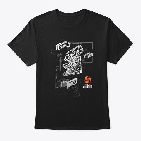 Kit Guru   System Design Black T-Shirt Front